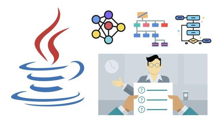 دورة مجانية لتعلم الخوارزميات وهياكل البيانات بلغة الجافا